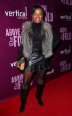 Actress Vanessa Bell Calloway attends the opening night performance of 'Above the Fold' at the Pasadena Playhouse on February 5 2014 in Pasadena...