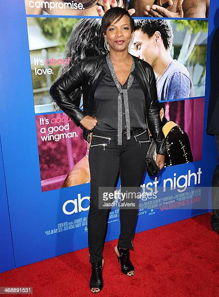 Actress Vanessa Bell Calloway attends the Pan African Film Arts Festival premiere of 'About Last Night' at ArcLight Cinemas Cinerama Dome on February...
