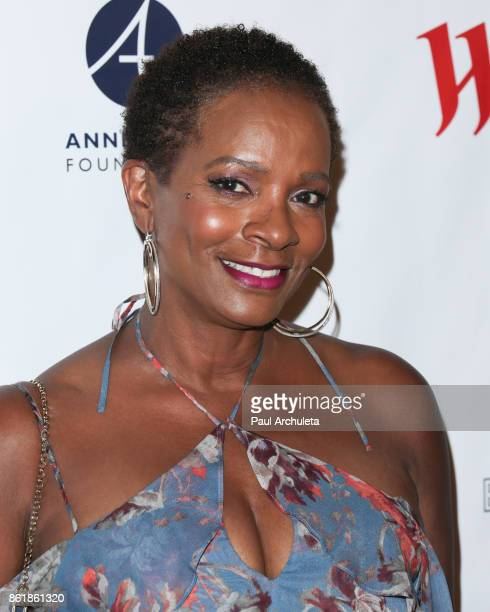 Actress Vanessa Bell Calloway attends the Sunday matinee of 'Turn Me Loose' at The Wallis Annenberg Center for the Performing Arts on October 15 2017...