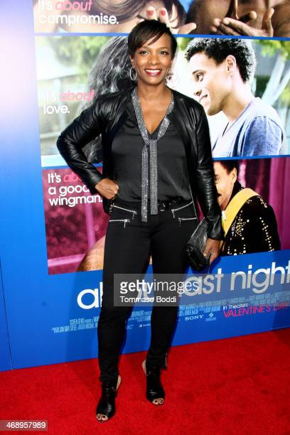 Actress Vanessa Bell Calloway attends the The Pan African Film Arts Festival premiere of 'About Last Night' held at the ArcLight Cinemas Cinerama...