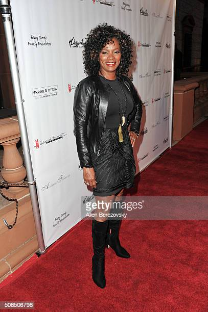 Actress Vanessa Bell Calloway attends the US Premiere of Debbie Allen's 'Freeze Frame' at The Wallis Annenberg Center for the Performing Arts on...