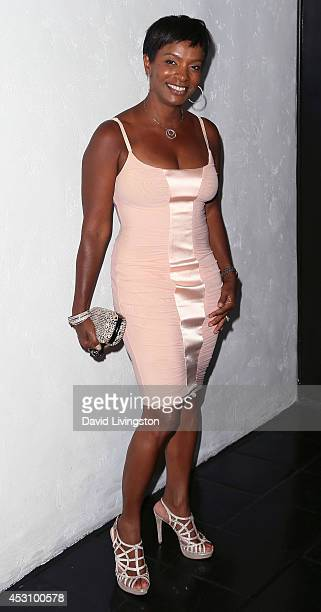 Actress Vanessa Bell Calloway attends the Vivica A Fox 50th birthday celebration at Philippe Chow on August 2 2014 in Beverly Hills California