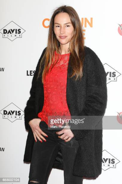 Actress Vanessa Demouy attends the 'Chacun sa vie' Premiere at Cinema UGC Normandie on March 13 2017 in Paris France