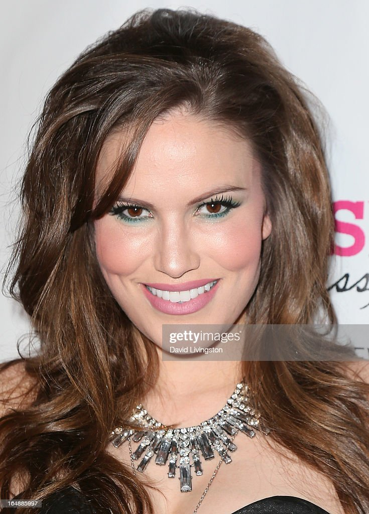 Actress Vanessa Gomez attends the 'Pieces (of Ass)' opening night Los Angeles performance at The Fonda Theatre on March 28, 2013 in Los Angeles, California.