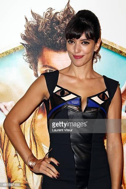 Actress Vanessa Guide attends 'Les Nouvelles Aventures D'Aladin' Premiere at Le Grand Rex on October 6 2015 in Paris France