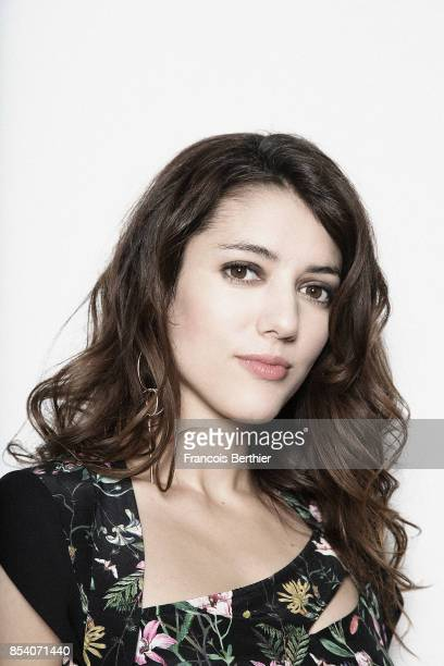 Actress Vanessa Guide is photographed for Self Assignment on March 7 2017 in Paris France