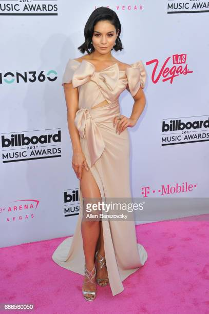 Actress Vanessa Hudgens arrives at 2017 Billboard Music Awards at TMobile Arena on May 21 2017 in Las Vegas Nevada