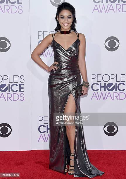 Actress Vanessa Hudgens arrives at People's Choice Awards 2016 at Microsoft Theater on January 6 2016 in Los Angeles California