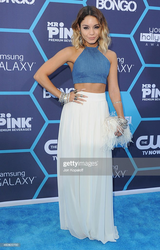 Actress Vanessa Hudgens arrives at the 16th Annual Young Hollywood Awards at The Wiltern on July 27 2014 in Los Angeles California