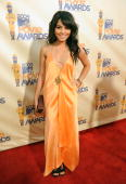 Actress Vanessa Hudgens arrives at the 2009 MTV Movie Awards held at the Gibson Amphitheatre on May 31 2009 in Universal City California