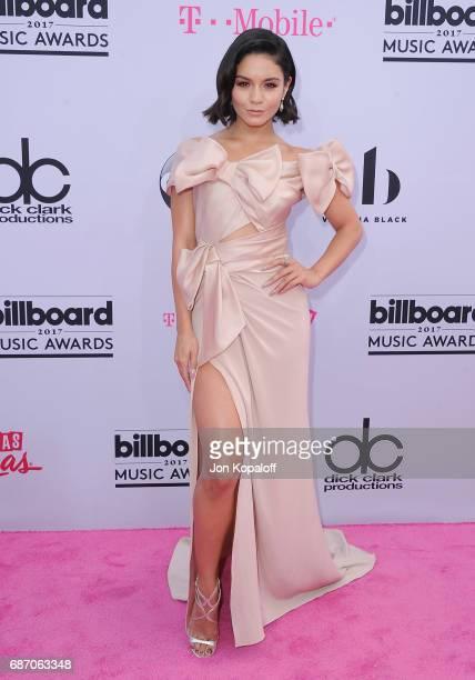 Actress Vanessa Hudgens arrives at the 2017 Billboard Music Awards at TMobile Arena on May 21 2017 in Las Vegas Nevada