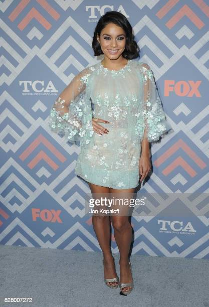 Actress Vanessa Hudgens arrives at the 2017 Fox Summer TCA Tour at the Soho House on August 8 2017 in West Hollywood California
