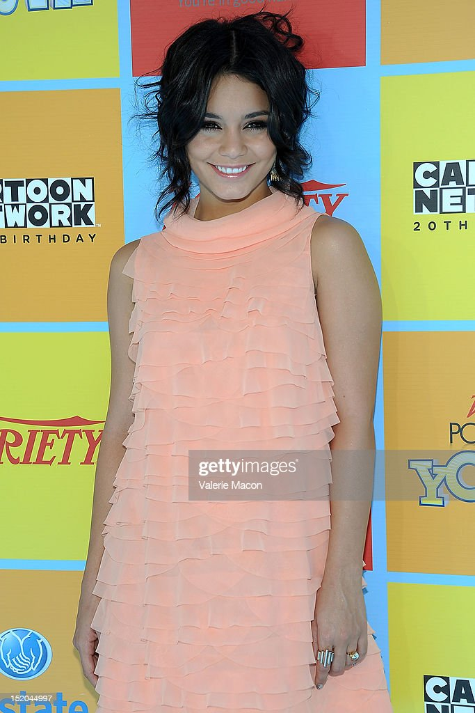 Actress Vanessa Hudgens arrives at Variety's 6th Annual Power Of Youth Event at Paramount Studios on September 15, 2012 in Hollywood, California.