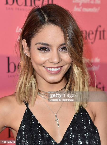 Actress Vanessa Hudgens attends Benefit Cosmetic's 1st Annual National Wing Women Weekend VIP Launch at Space 15 Twenty on September 26 2014 in Los...
