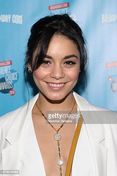 Actress Vanessa Hudgens attends Broadwaycom Audience Choice Awards at Lounge 48 on May 19 2015 in New York City