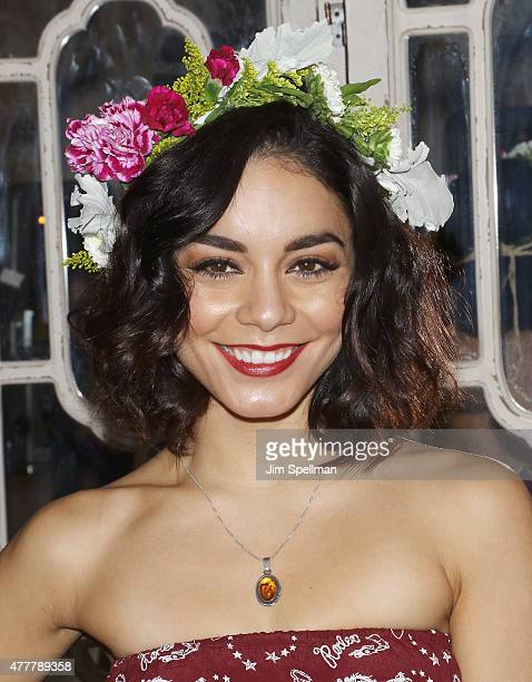 Actress Vanessa Hudgens attends her Social Life Magazine party at Elyx House on June 19 2015 in New York City