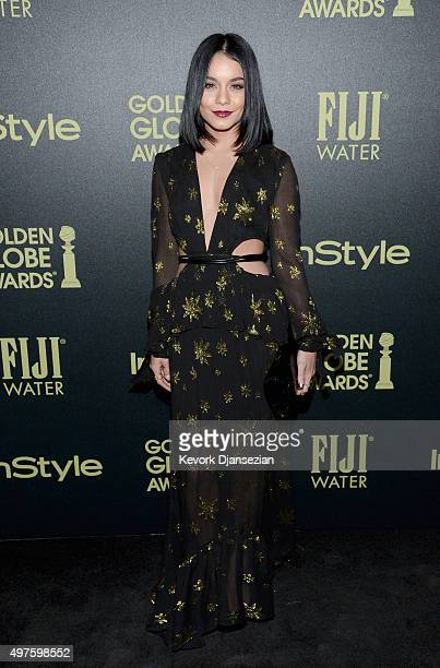 Actress Vanessa Hudgens attends Hollywood Foreign Press Association and InStyle Celebration of The 2016 Golden Globe Award Season at Ysabel on...