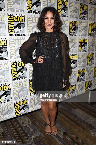 Actress Vanessa Hudgens attends 'Powerless' Press Line during ComicCon International 2016 at Hilton Bayfront on July 22 2016 in San Diego California