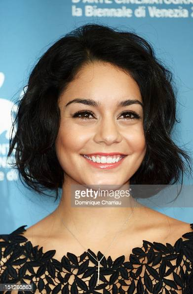 Actress Vanessa Hudgens attends 'Spring Breakers' Photocall during The 69th Venice Film Festival at the Palazzo del Casino on on September 5 2012 in...