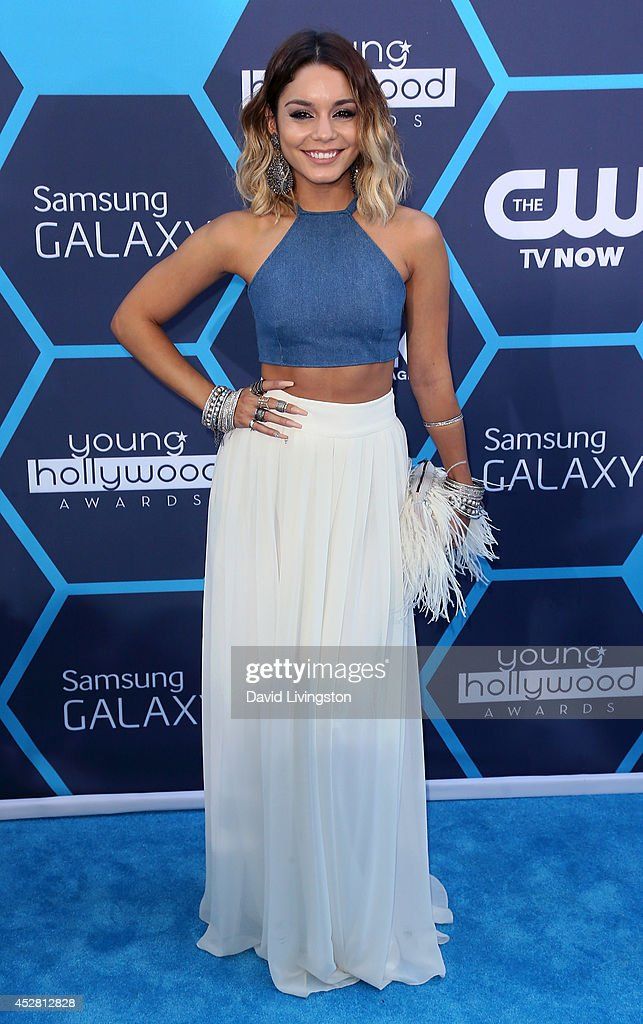 Actress Vanessa Hudgens attends the 16th Annual Young Hollywood Awards at The Wiltern on July 27, 2014 in Los Angeles, California.