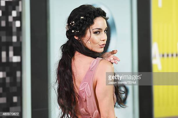 Actress Vanessa Hudgens attends the 2015 MTV Video Music Awards at Microsoft Theater on August 30 2015 in Los Angeles California