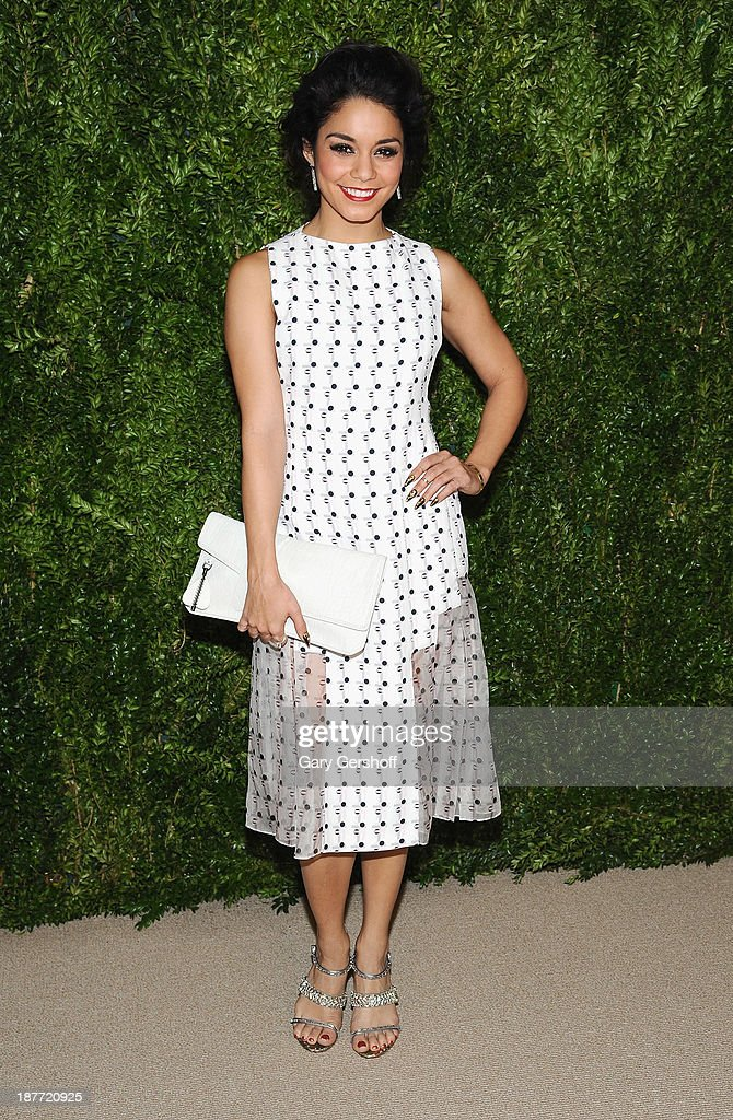 Actress Vanessa Hudgens attends The CFDA and Vogue 2013 Fashion Fund Finalists Celebration at Spring Studios on November 11, 2013 in New York City.