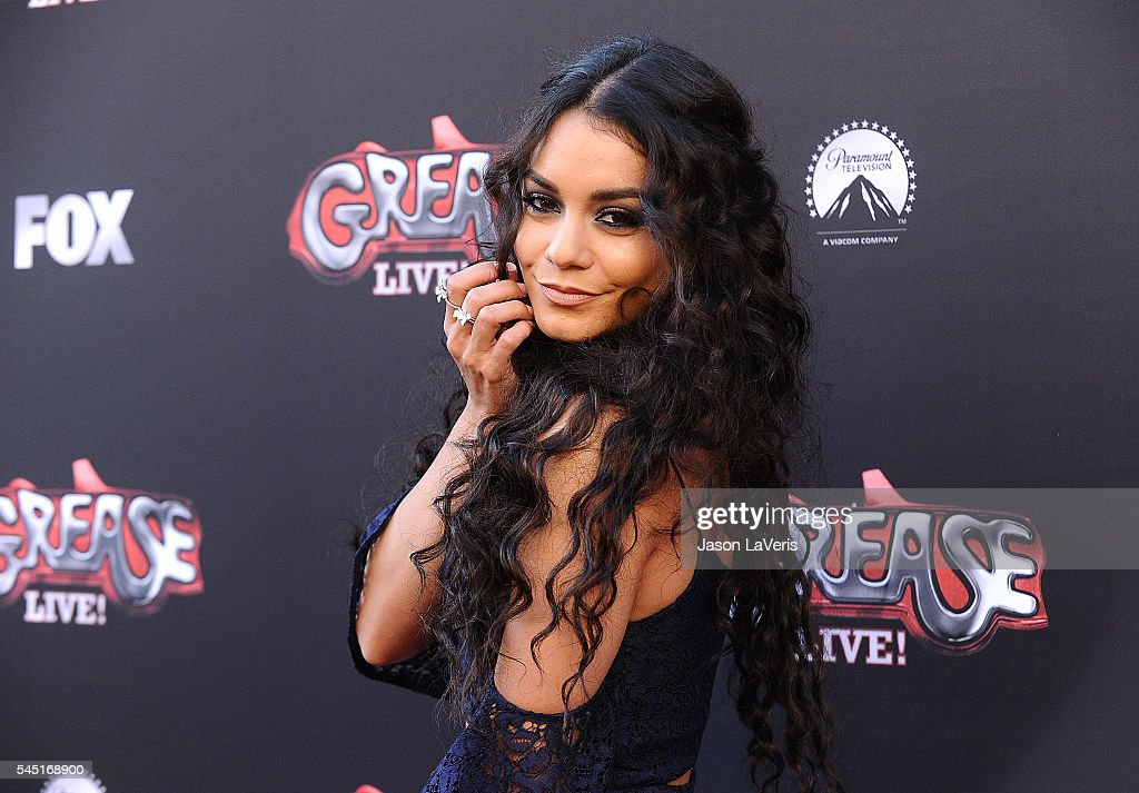Actress Vanessa Hudgens attends the For Your Consideration event for FOX's 'Grease Live' at Paramount Studios on June 15 2016 in Los Angeles...