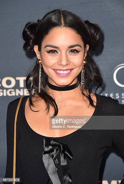 Actress Vanessa Hudgens attends the premiere Of The Vladar Company's 'Jeremy Scott The People's Designer' at TCL Chinese 6 Theatres on September 8...