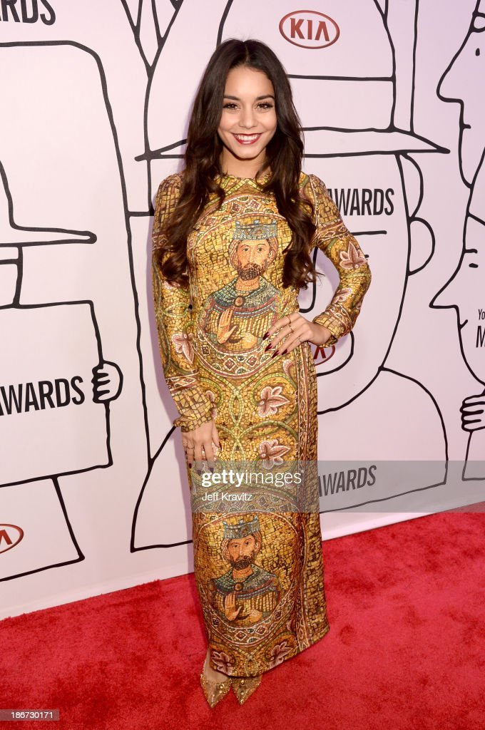 Actress Vanessa Hudgens attends the YouTube Music Awards 2013 on November 3, 2013 in New York City.