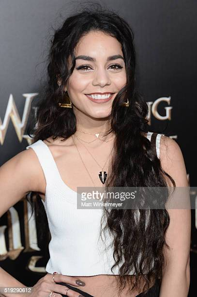 Actress Vanessa Hudgens attends Universal Studios' 'Wizarding World of Harry Potter Opening' at Universal Studios Hollywood on April 5 2016 in...