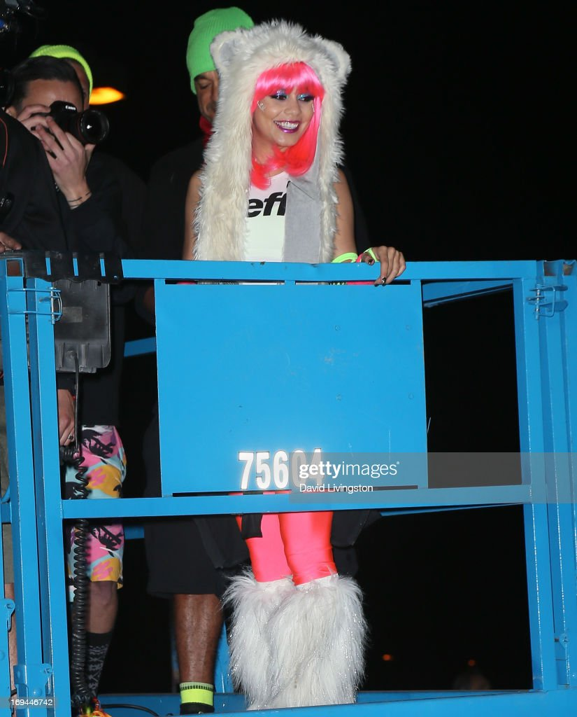Actress Vanessa Hudgens hosts Electric Run LA at The Home Depot Center on May 24, 2013 in Carson, California.