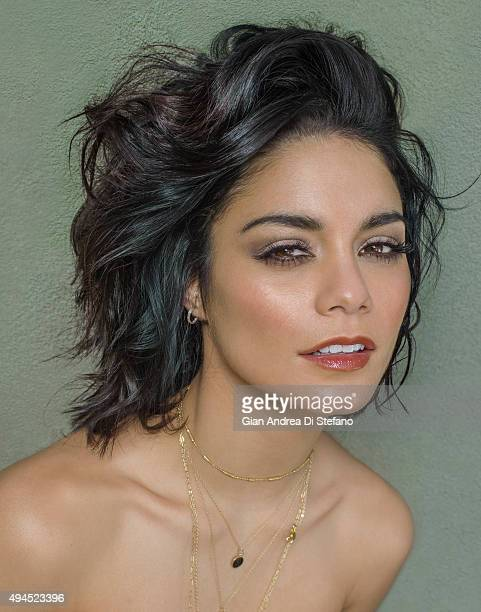 Actress Vanessa Hudgens is photographed for Social Life on April 17 in New York City