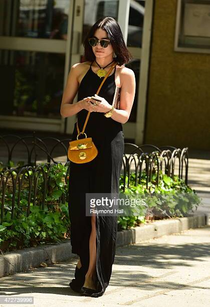 Actress Vanessa Hudgens is seen in Soho on May 8 2015 in New York City