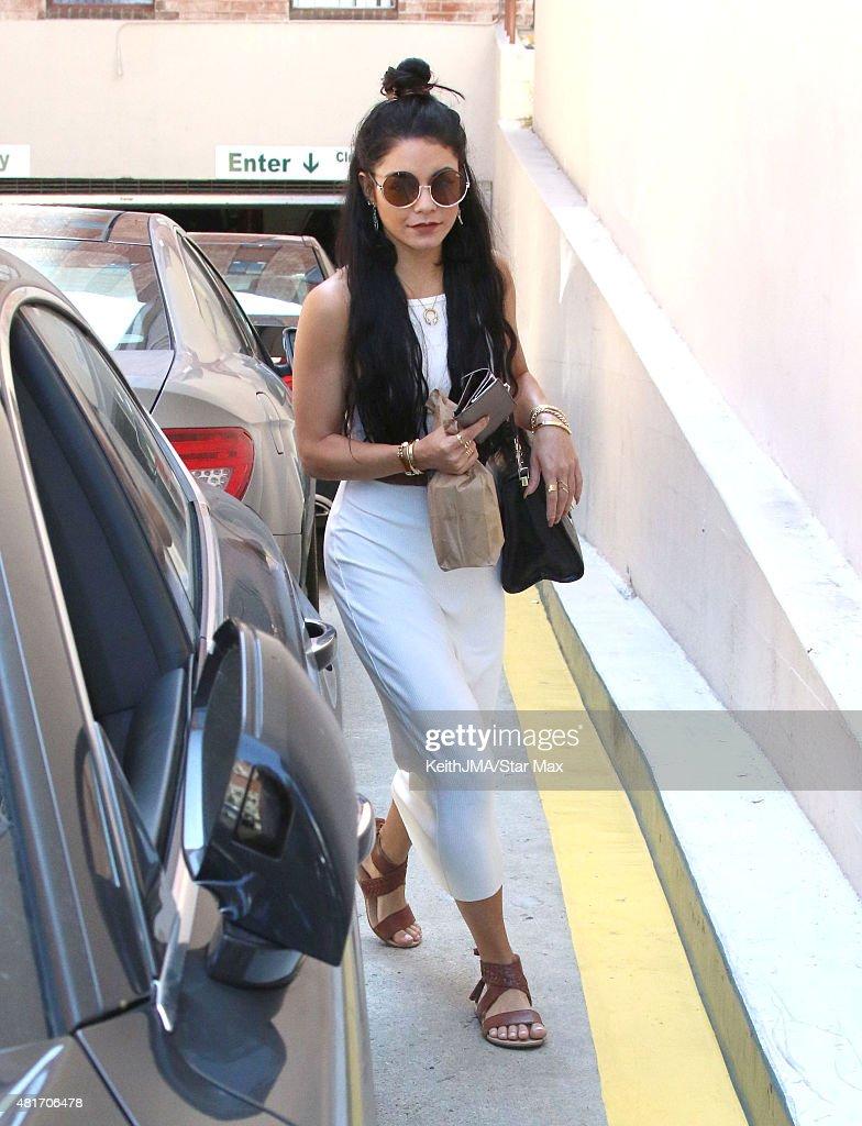 Actress Vanessa Hudgens is seen on July 23 2015 in Los Angeles California