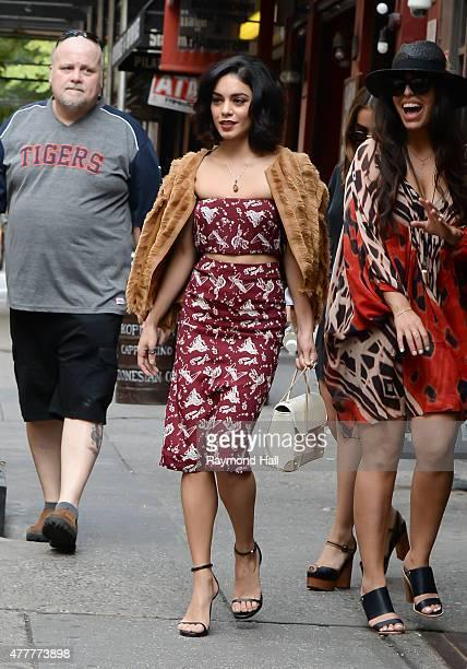Actress Vanessa Hudgens is seen walking in Soho on June 19 2015 in New York City