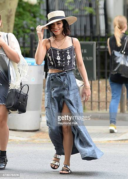 Actress Vanessa Hudgens is seen walking in Soho on May 12 2015 in New York City