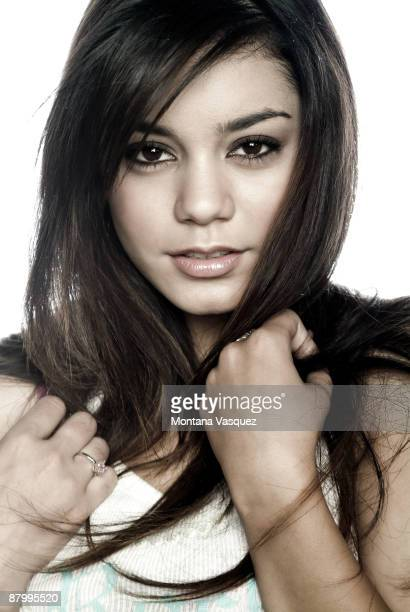 Actress Vanessa Hudgens poses for a portrait session in Los Angeles for Self Assignment