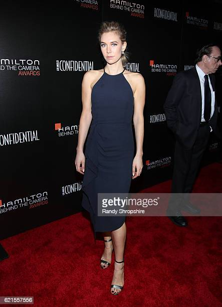 Actress Vanessa Kirby attends the Hamilton Behind The Camera Awards presented by Los Angeles Confidential Magazine at Exchange LA on November 6 2016...