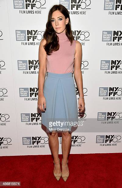 Actress Vanessa Kirby attends the 'Queen And Country' premiere during the 52nd New York Film Festival at Alice Tully Hall on October 7 2014 in New...