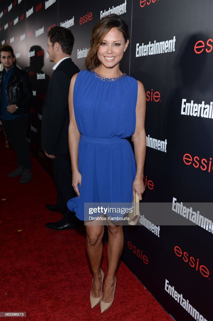 Actress Vanessa Lachey attends the Entertainment Weekly celebration honoring this year's SAG Awards nominees sponsored by TNT & TBS and essie at Chateau Marmont on January 17, 2014 in Los Angeles, California.