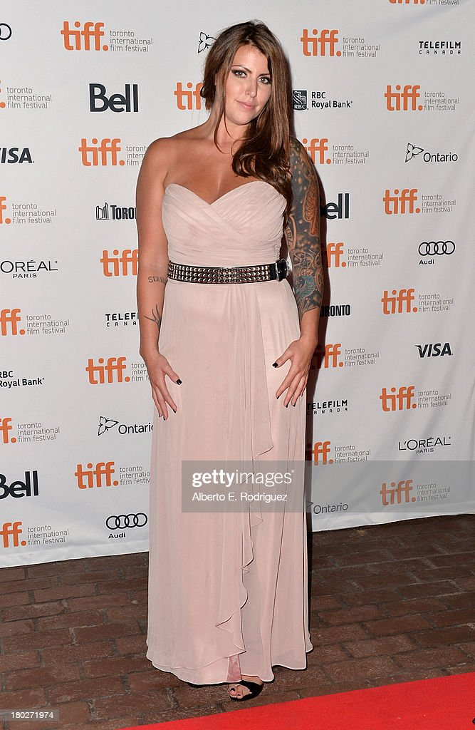 Actress Vanessa Leigh arrives at the 'Almost Human' Premiere during the 2013 Toronto International Film Festival at Ryerson Theatre on September 10, 2013 in Toronto, Canada.