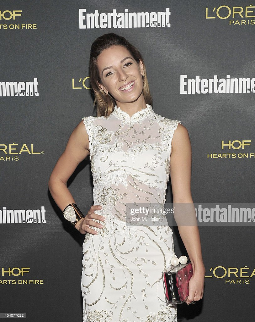 Actress Vanessa Lengies attends Entertainment Weekly's Pre-Emmy Party at Fig & Olive on Melrose Place on August 23, 2014 in West Hollywood, California.