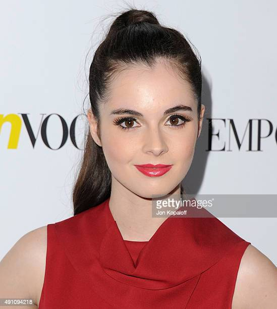 Actress Vanessa Marano arrives at Teen Vogue's 13th Annual Young Hollywood Issue Launch Party on October 2 2015 in Los Angeles California