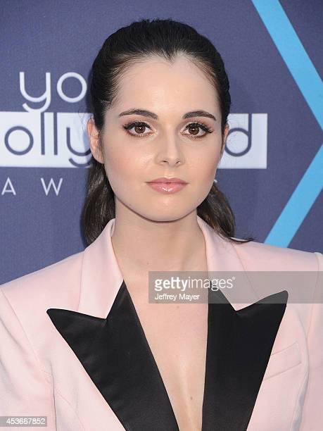 Actress Vanessa Marano arrives at the 16th Annual Young Hollywood Awards at The Wiltern on July 27 2014 in Los Angeles California