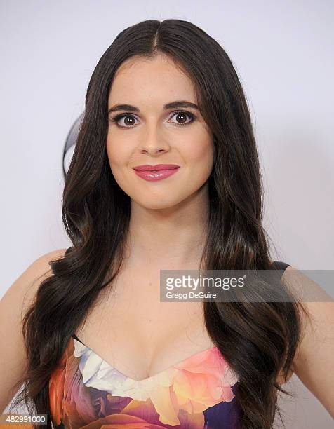 Actress Vanessa Marano arrives at the Disney ABC Television Group's 2015 TCA Summer Press Tour on August 4 2015 in Beverly Hills California