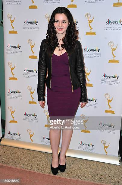 Actress Vanessa Marano arrives to The Academy of Television Arts Sciences Diversity Committee and ABC Family Presents 'Switched at Birth' at...