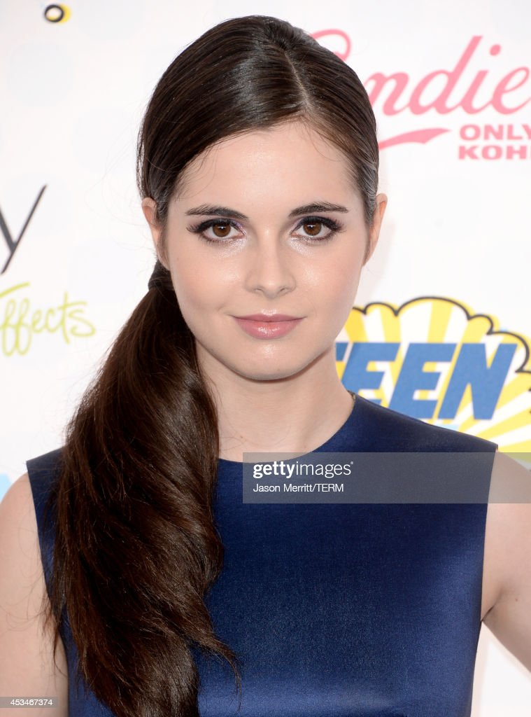 Actress Vanessa Marano attends FOX's 2014 Teen Choice Awards at The Shrine Auditorium on August 10, 2014 in Los Angeles, California.