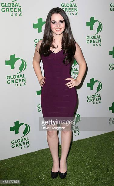 Actress Vanessa Marano attends Global Green USA's 11th Annual PreOscar Party at Avalon on February 26 2014 in Hollywood California
