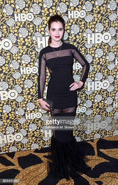 Actress Vanessa Marano attends HBO's Post 2016 Golden Globe Awards Party at Circa 55 Restaurant on January 10 2016 in Los Angeles California