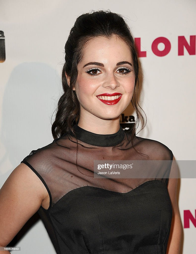Actress Vanessa Marano attends Nylon Magazine's Young Hollywood issue event at The Roosevelt Hotel on May 14, 2013 in Hollywood, California.
